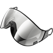 visor clear silver mirror