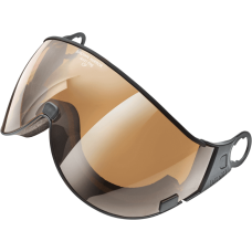 visor brown mirror